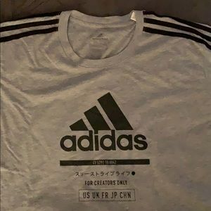 Adidas tshirt employees only special